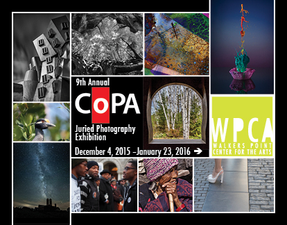9th Annual CoPA Juried Photography Exhibition