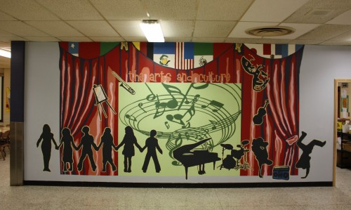 Prince of Peace 2010 Mural