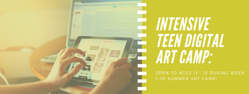 Intensive Teen Digital Art Camp