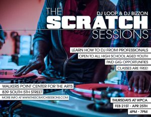 The Scratch Sessions @ Walker's Point Center for the Arts